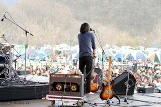 Apr 2007. ARABAKI Rock fes't at stage